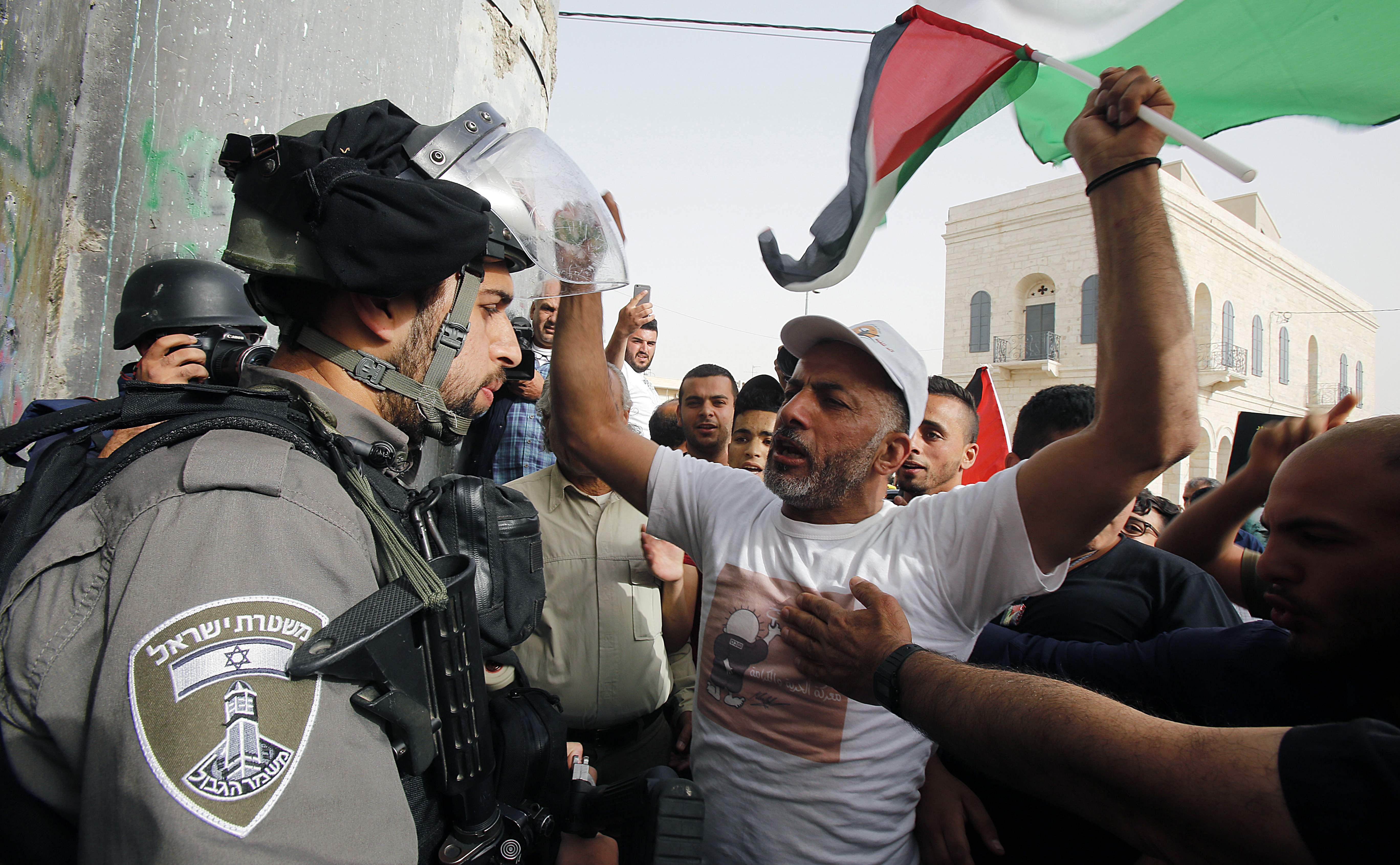PALESTINIAN-ISRAEL-CONFLICT-PRISONERS
